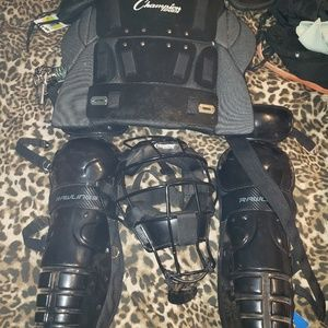 Baseball Catcher's gear